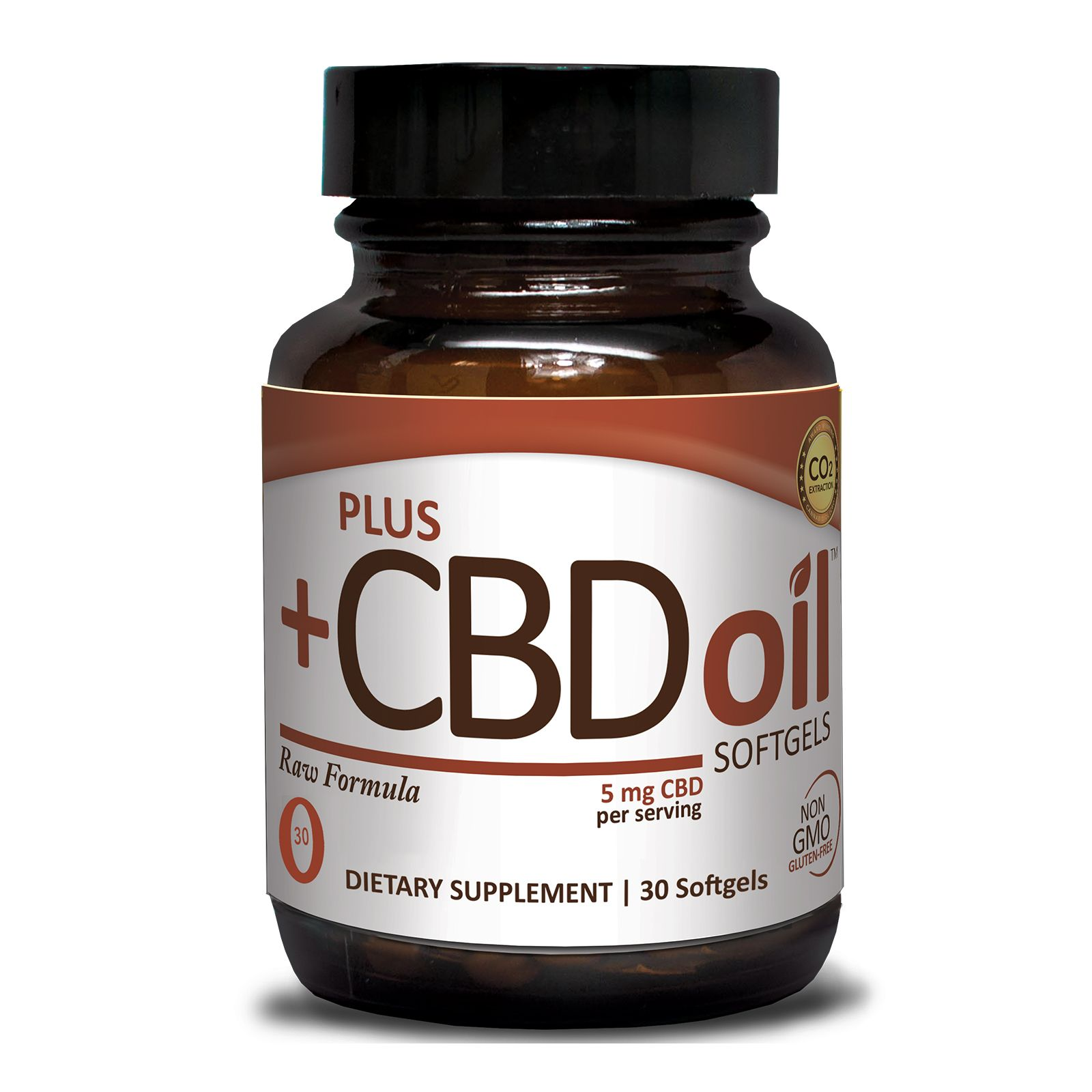 CBD Oil Raw 150 mg 30 Vegetarian Softgels