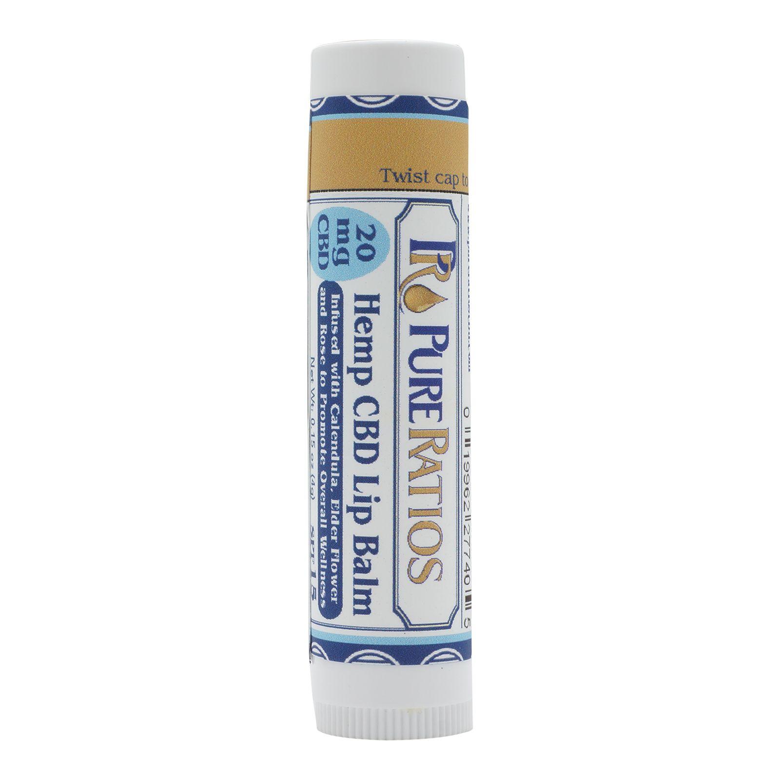 CBD Lip Balm 20 mg 0.15 oz. (4.3 g)