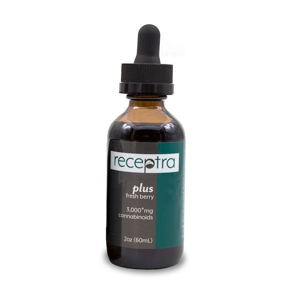 Plus CBD Oil Berry 3,000 mg 2 fl. oz. (59 mL)