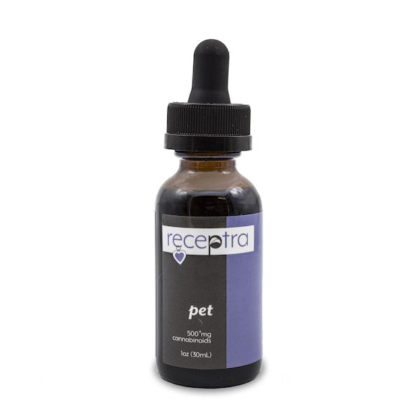 Pet CBD Oil Natural Flavor 500 mg 1 fl. oz. (30 mL)