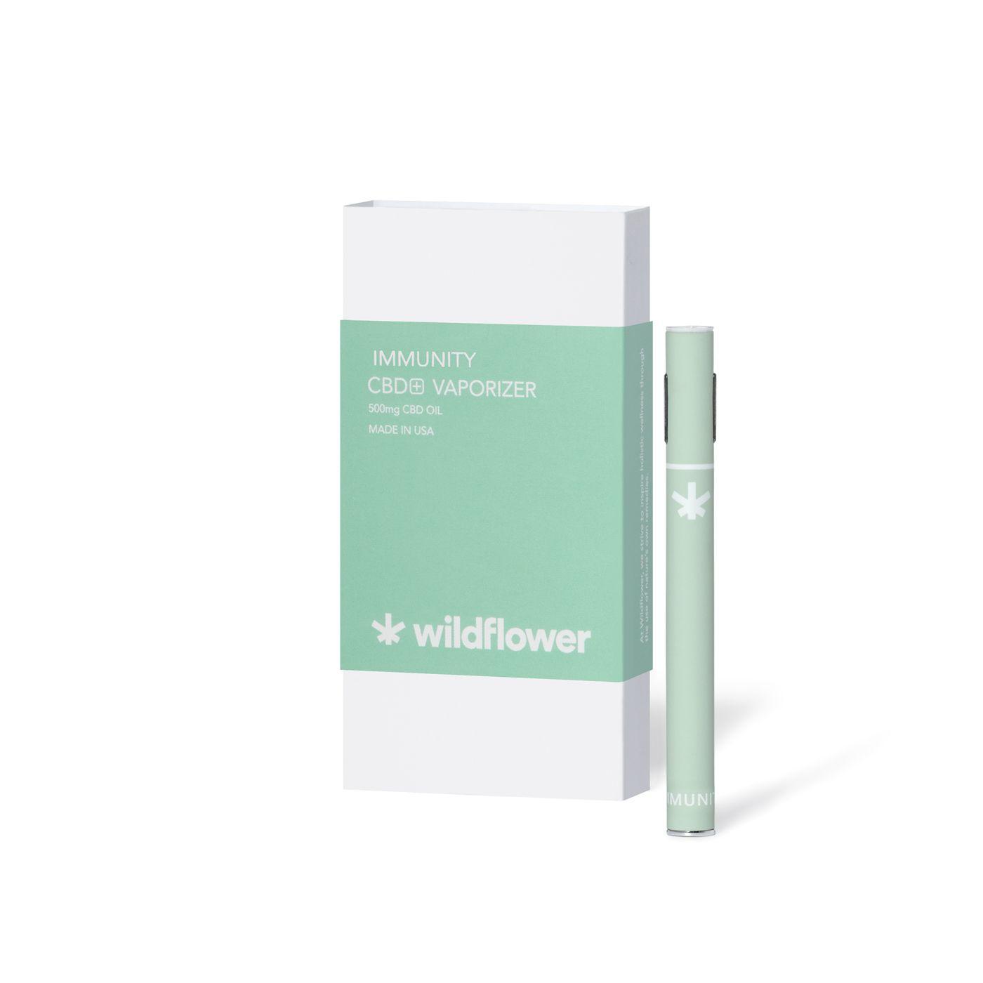 CBD+ Immunity Vaporizer Eucalyptus 300 mg 150 Inhalations
