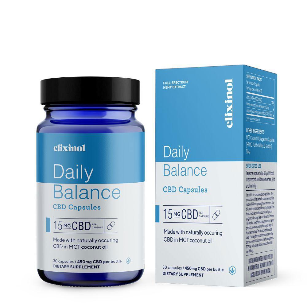 Daily Balance CBD 450 mg 30 Capsules