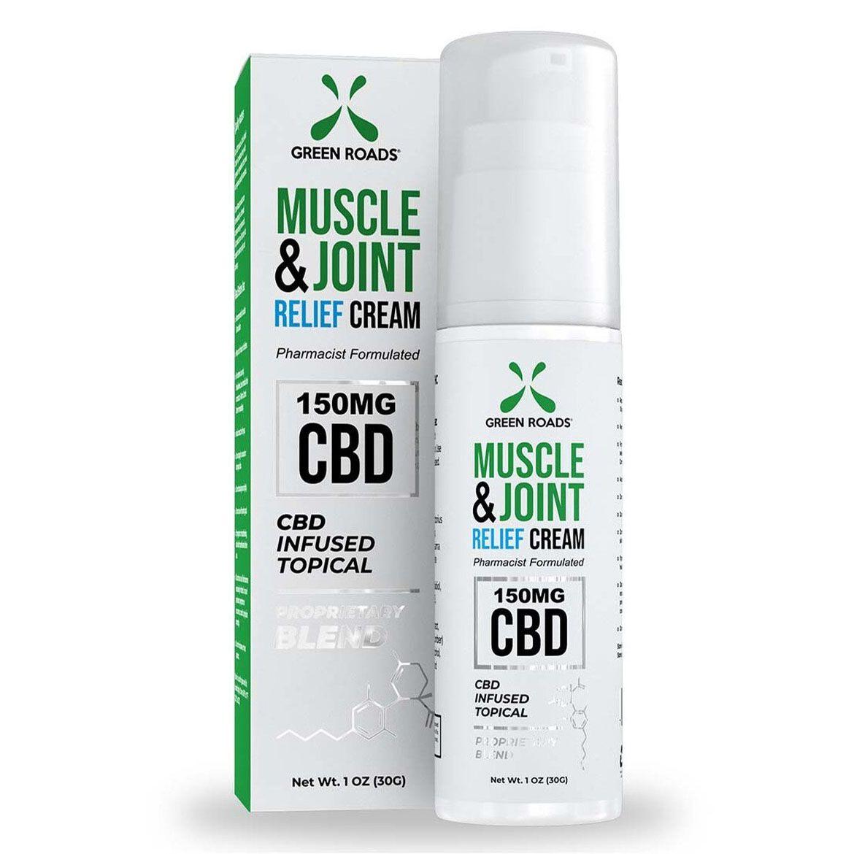 CBD & Menthol Muscle & Joint Cream 150 mg 1 oz. (30 g)