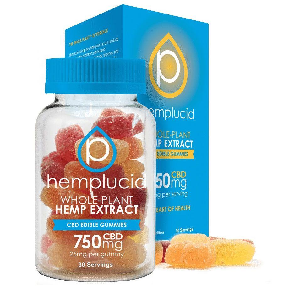 CBD Edible Gummies Natural Flavor 750 mg 30 Gummies