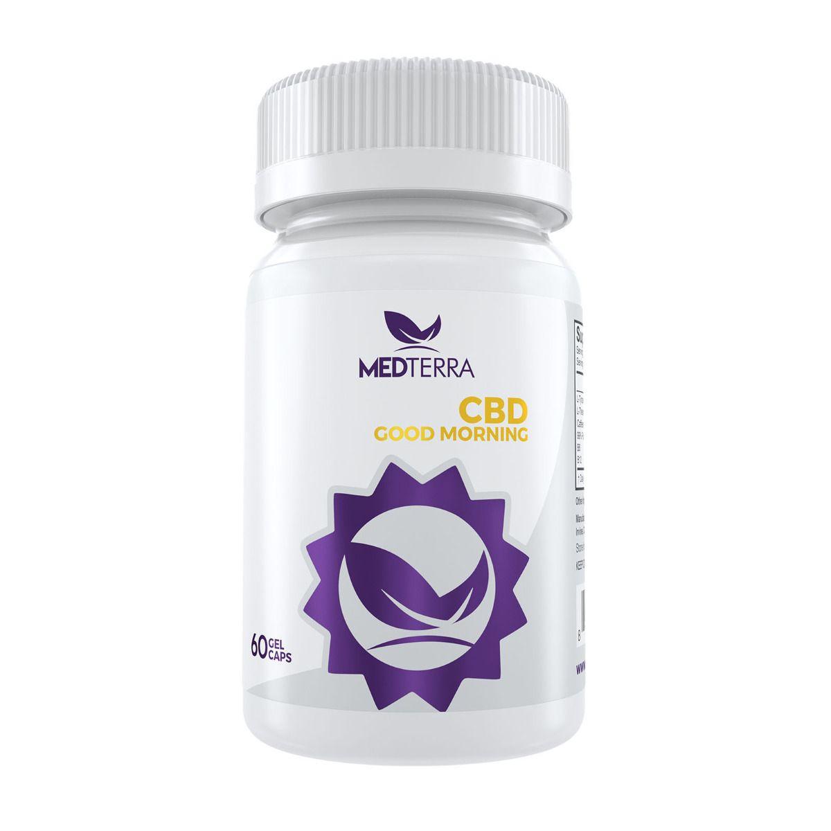 CBD Good Morning 750 mg 60 Capsules