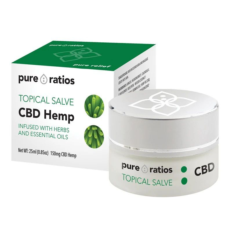 CBD Salve 150 mg 0.85 fl. oz. (25 mL)