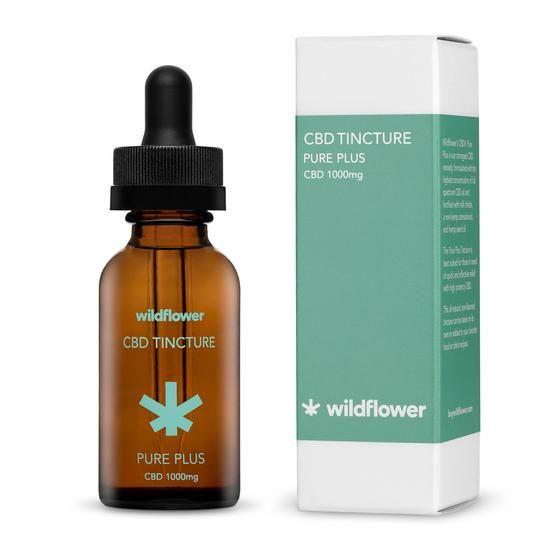 CBD+ Pure Plus TIncture Natural Flavor 1,000 mg 1 fl. oz. (30 mL)